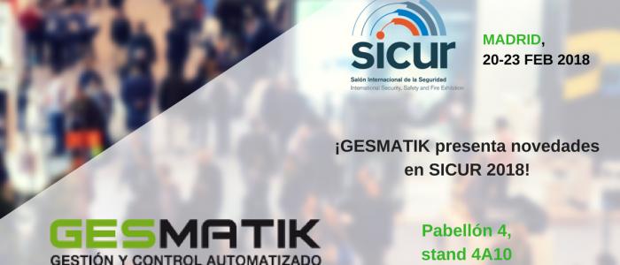 ¡GESMATIK presenta novedades en SICUR 2018! (1)